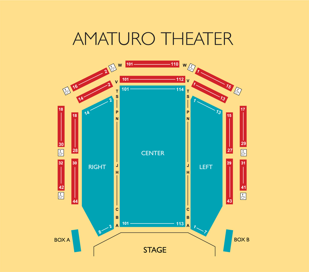 Broward Center For The Performing Arts    Seating Charts